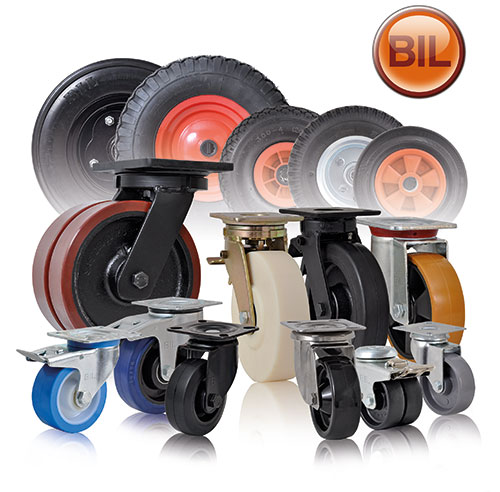 BIL Castors and Wheels
