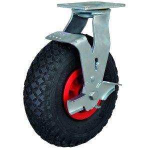 Pneumatic Castor Wheels - Puncture Proof