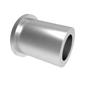 Headed Spacer 25mm bearing x 3mm thick head x 16mm axle bolt
