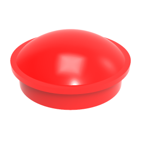 PD series retaining cap - RED