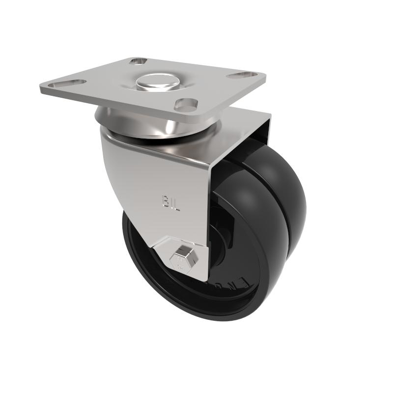 Twin Wheel Institutional light duty Castors