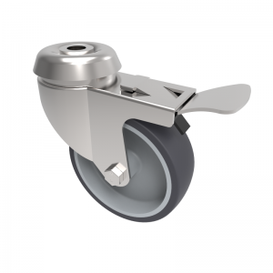 Institutional light duty Castors