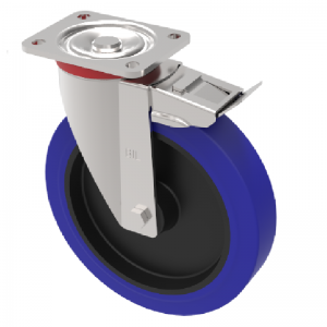 Pressed Steel Medium Duty Castors