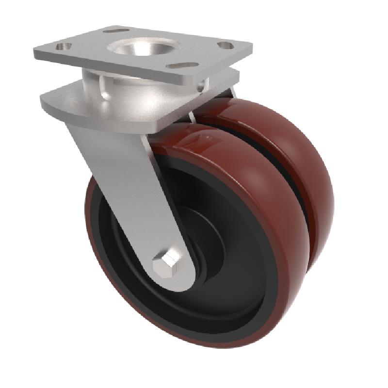 Twin Wheel Heavy Duty Castors