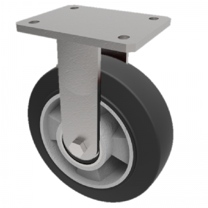 Elastic Rubber on Aluminium Plate Fixed 150mm 350kg Load