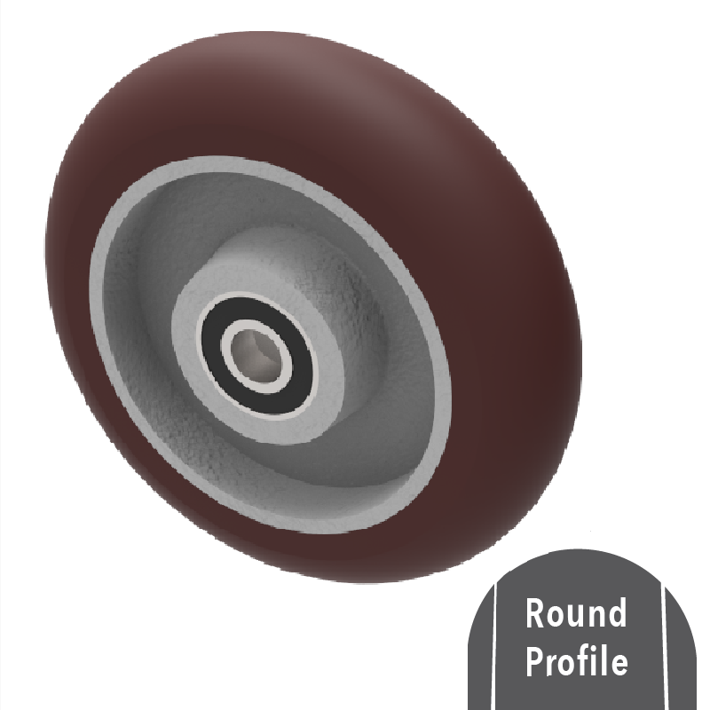 Ergonomic Polyurethane Wheels