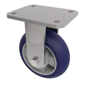 Softer Ergonomic Polyurethane Plate Fixed 100mm 300kg Load