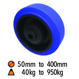 Elastic Rubber Wheels