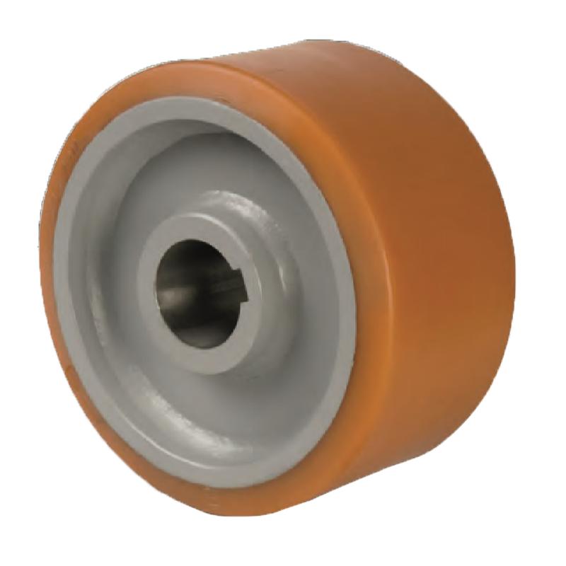Cast Polyurethane Tyre with Ergonomic