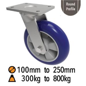 Ergonomic Medium to Heavy Duty Castors