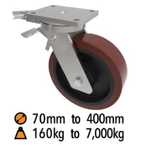 Fabricated Medium to Extra Heavy Duty Castors