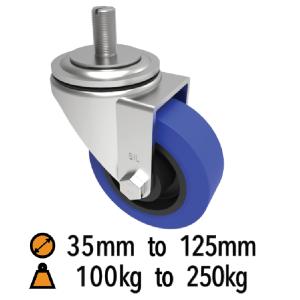 Pressed Steel Stem Fixing Castors