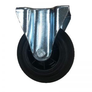 Rubber Plate fixed 125mm 90kg Load