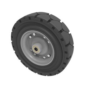 Black Elastic Speed Rubber 250mm Ball Bearing 450kg Load