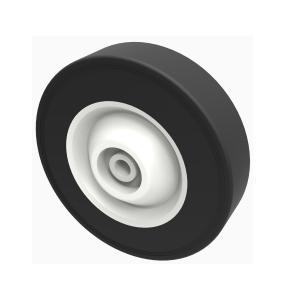 Black Rubber 150mm Plain Bearing 30kg Load