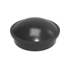 PD series retaining cap - BLACK