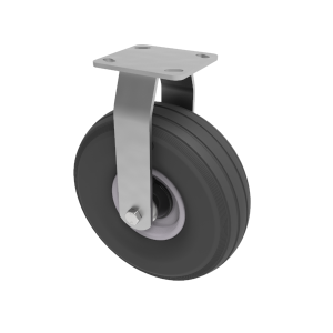 Puncture Proof Polyurethane Plate Fixed 260mm 150kg Load