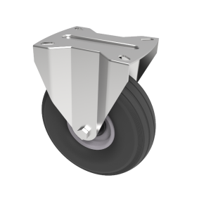 Puncture Proof Polyurethane Plate Fixed 200mm 75kg Load