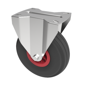 Puncture Proof Polyurethane Plate Fixed 260mm 120kg Load